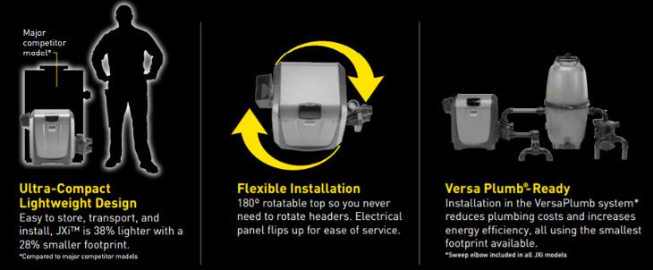 Jandy Pro Series 200k Btu Natural Gas Heater