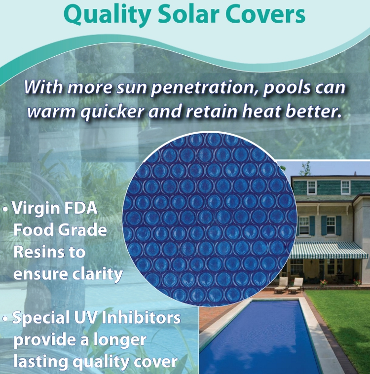 15 Ft X 24 Ft Above Ground Solar Blanket Oval 3 Year